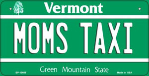 Moms Taxi Vermont Wholesale Novelty Metal Bicycle Plate BP-10685