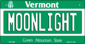 Moonlight Vermont Wholesale Novelty Metal Bicycle Plate BP-10695