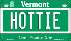 Hottie Vermont Wholesale Novelty Metal Motorcycle Plate MP-10674