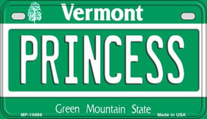 Princess Vermont Wholesale Novelty Metal Motorcycle Plate MP-10686