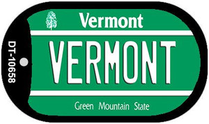 Vermont Wholesale Novelty Metal Dog Tag Necklace DT-10658