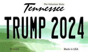 Trump 2024 Tennessee Wholesale Novelty Metal Magnet M-12255