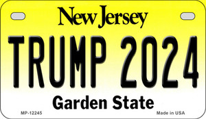 Trump 2024 New Jersey Wholesale Novelty Metal Motorcycle Plate MP-12245