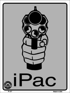 iPac Wholesale Metal Novelty Parking Sign P-377