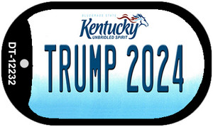 Trump 2024 Kentucky Wholesale Novelty Metal Dog Tag Necklace DT-12232