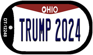 Trump 2024 Ohio Wholesale Novelty Metal Dog Tag Necklace DT-12248