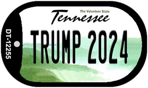 Trump 2024 Tennessee Wholesale Novelty Metal Dog Tag Necklace DT-12255