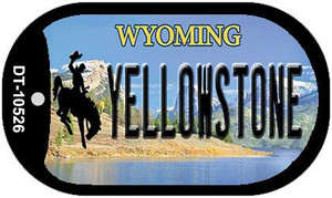Yellowstone Wyoming Wholesale Novelty Metal Dog Tag Necklace