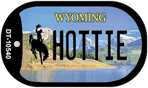 Hottie Wyoming Wholesale Novelty Metal Dog Tag Necklace DT-10540