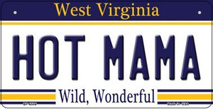 Hot Mama West Virginia Wholesale Novelty Metal Bicycle Plate