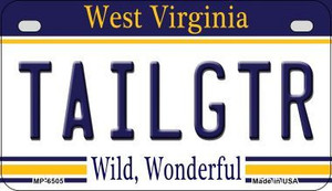 Tailgtr West Virginia Wholesale Novelty Metal Motorcycle Plate MP-6505