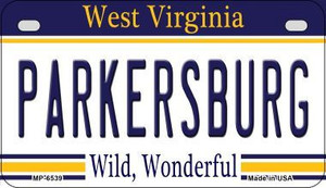 Parkersburg West Virginia Wholesale Novelty Metal Motorcycle Plate MP-6539