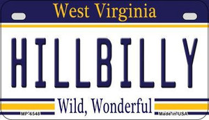 Hillbilly West Virginia Wholesale Novelty Metal Motorcycle Plate MP-6548