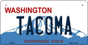 Tacoma Washington Wholesale Novelty Metal Bicycle Plate BP-8672