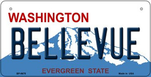 Bellevue Washington Wholesale Novelty Metal Bicycle Plate BP-8675