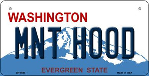Mnt Hood Washington Wholesale Novelty Metal Bicycle Plate BP-8685