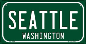 Seattle Green Washington Wholesale Novelty Metal Bicycle Plate BP-8937
