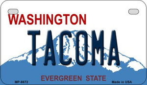 Tacoma Washington Wholesale Novelty Metal Motorcycle Plate MP-8672