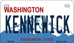 Kennewick Washington Wholesale Novelty Metal Motorcycle Plate MP-8678