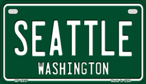Seattle Green Washington Wholesale Novelty Metal Motorcycle Plate MP-8937