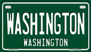 Washington Green Washington Wholesale Novelty Metal Motorcycle Plate MP-9496