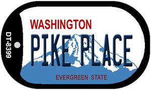 Pike Place Washington Wholesale Novelty Metal Dog Tag Necklace DT-8399