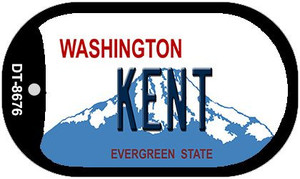Kent Washington Wholesale Novelty Metal Dog Tag Necklace DT-8676
