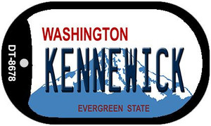 Kennewick Washington Wholesale Novelty Metal Dog Tag Necklace DT-8678