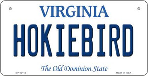 Hokiebird Virginia Wholesale Novelty Metal Bicycle Plate BP-10113