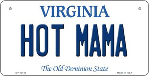Hot Mama Virginia Wholesale Novelty Metal Bicycle Plate BP-10125