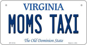 Moms Taxi Virginia Wholesale Novelty Metal Bicycle Plate BP-10134
