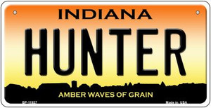 Hunter Indiana Wholesale Novelty Metal Bicycle Plate BP-11937