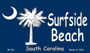 Surfside Beach Flag Wholesale Novelty Metal Magnet M-185