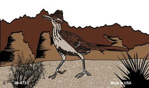 Roadrunner Wholesale Novelty Metal Magnet M-4753