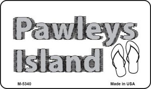 Pawleys Island Flip Flops Wholesale Novelty Metal Magnet M-5340