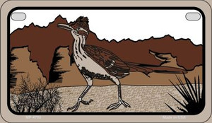 Roadrunner Wholesale Novelty Metal Motorcycle Plate MP-4753