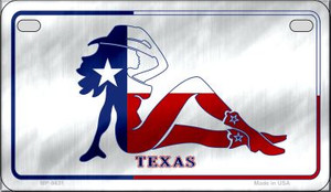 Texas Girl Wholesale Novelty Metal Motorcycle Plate MP-9431