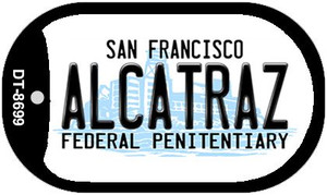 Alcatraz San Francisco Wholesale Novelty Metal Dog Tag Necklace DT-8699
