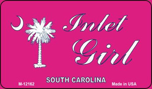 Inlet Girl SC Pink Wholesale Novelty Metal Magnet M-12162