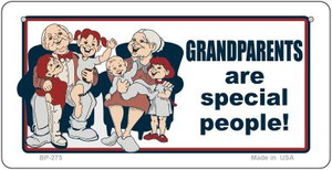 Grandparents Are Special Wholesale Novelty Metal Bicycle Plate BP-275