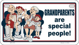 Grandparents Are Special Wholesale Novelty Metal Motorcycle Plate MP-275