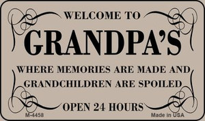 Welcome to Grandpas Wholesale Novelty Metal Magnet M-4458