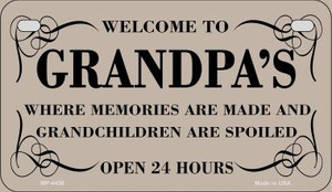 Welcome to Grandpas Wholesale Novelty Metal Motorcycle Plate MP-4458