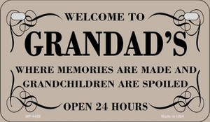 Welcome to Grandads Wholesale Novelty Metal Motorcycle Plate MP-4459