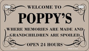 Welcome to Poppys Wholesale Novelty Metal Motorcycle Plate MP-4463
