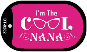Im The Cool Nana Wholesale Novelty Metal Dog Tag Necklace DT-8282