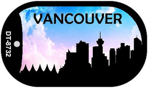 Vancouver Silhouette Wholesale Novelty Metal Dog Tag Necklace DT-8732