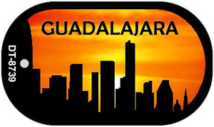 Guadalajara Silhouette Wholesale Novelty Metal Dog Tag Necklace DT-8739