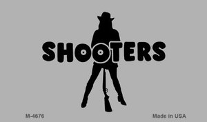 Shooters Wholesale Novelty Metal Magnet M-4676