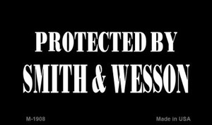 Smith and Wesson Wholesale Novelty Metal Magnet M-1908